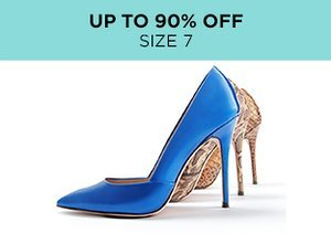 Up to 90% Off: Shoes Size 7