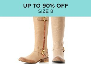 Up to 90% Off: Shoes Size 8