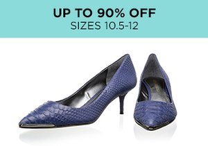 Up to 90% Off: Shoes Sizes 10.5-12