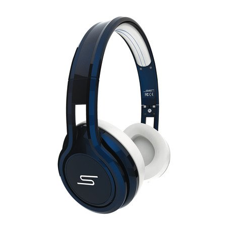 STREET by 50 Wired On-Ear Headphones // Blue