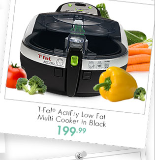 T-Fal® ActiFry Low Fat Multi Cooker in Black 199.99