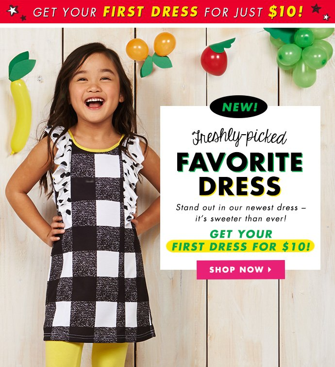 New Freshly-Picked Favorite Dress - Just $10!