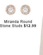 Miranda Stone Studs.