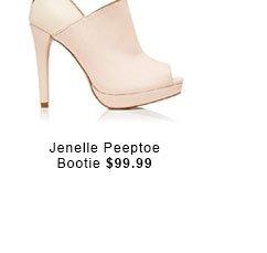 Jenelle Peeptoe Bootie.