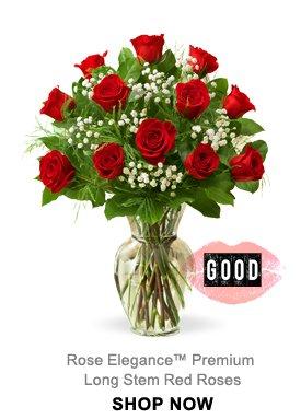 Rose Elegance™ Premium Long Stem Red Roses Shop Now