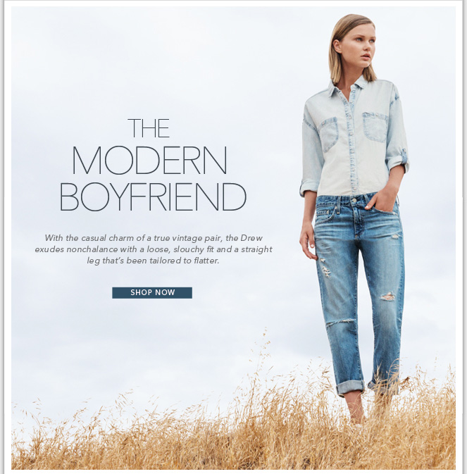 All Eyes On Drew - Shop Our New Boyfriend Jean