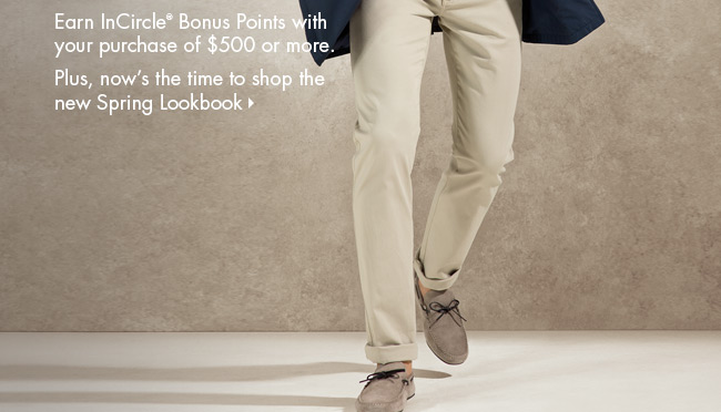 Ermenegildo Zegna Bonus Point Event