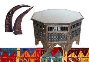 Tribal Style: Furniture & Décor