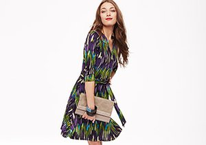 Almost Spring: Printed Dresses
