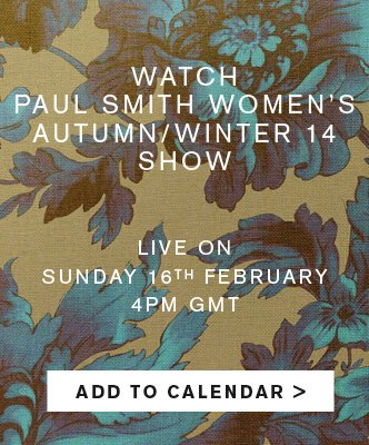 WOMEN'S AW14 SHOW - ADD TO CALENDER
