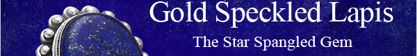 Masterpieces Gold Speckled Lapis