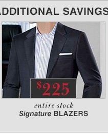 $225 USD - Signature Blazers