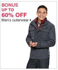 BONUS Up to 60% off Men's outerwear. Shop now.