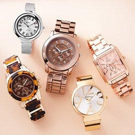 Metallic Flair: Fashion Watches
