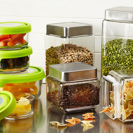 Tasteful Organization: Food Storage