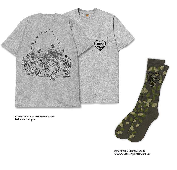 Carhartt WIP x CRV WKD Pocket T-Shirt