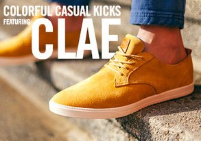 Shop Clae: Colorful Casual Kicks