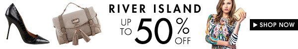 River Island - Up to 60% off