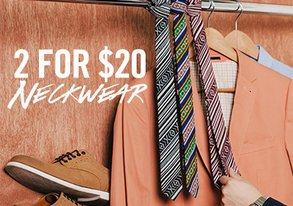 Shop Get Tied Up: 2 for $20 Neckwear