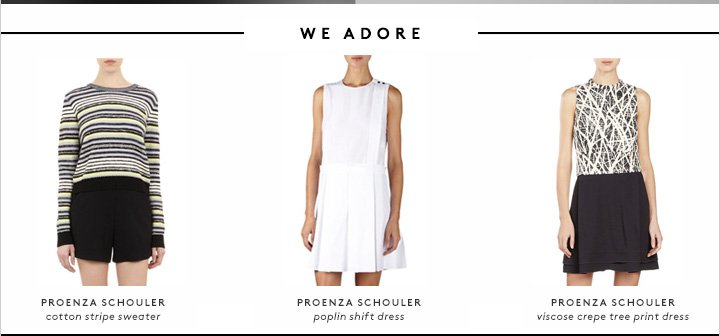 How do we love Proenza? Let us count the ways...