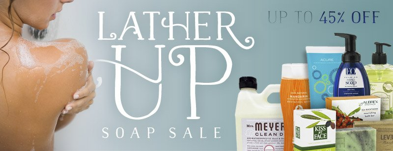 Lather Up Soap Sale