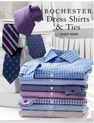 ROCHESTER DRESS SHIRTS & TIES | SHOP NOW