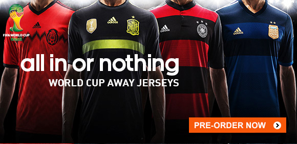 Shop Soccer Federation Away Kits »