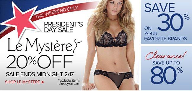 President's Day Sale at HerRoom
