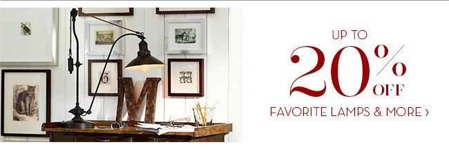 FAVORITE LAMPS & MORE