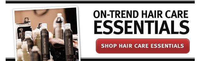 on trend hair care essentials. shop hair care essentials.