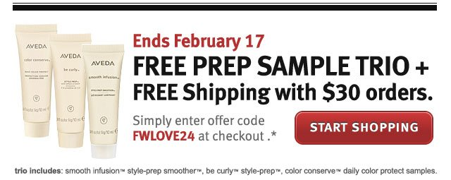 free prep sample trio + free shipping with $30 orders. start shopping.