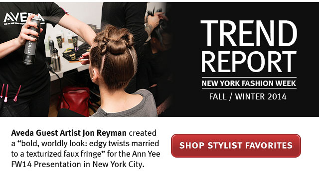 trend report new york fashion week 2014. shop stylists favorites.
