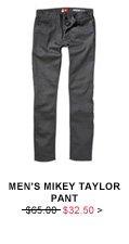 Men's Mikey Taylor Pant: $32.50