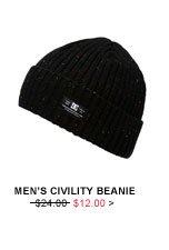 Men's Civility Beanie: $12.00