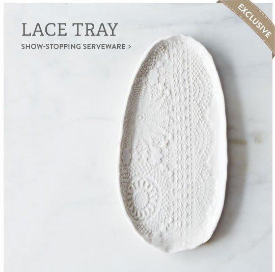 Lace Tray