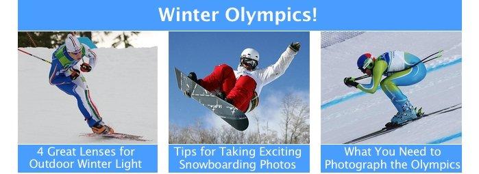 Winter Olympics Photo Tips
