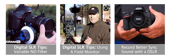 DSLR Video Tips on Adorama TV