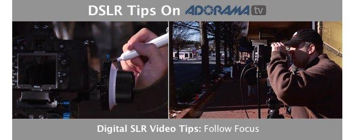 DSLR VIdeo Tips