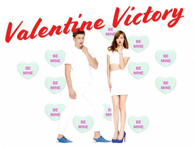 VALENTINE VICTORY