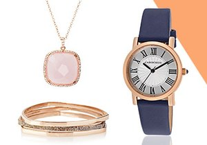 Rose Gold Jewelry & Watches