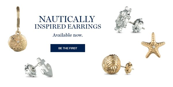 NAUTICALLY INSPRIRED EARRINGS | BE THE FIRST
