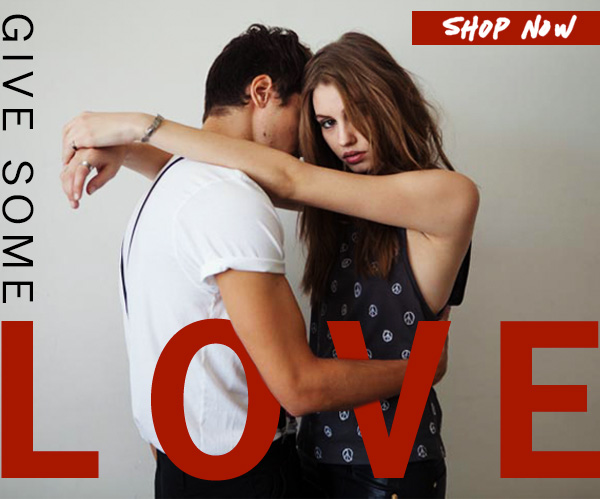 Give some love. Shop Now.