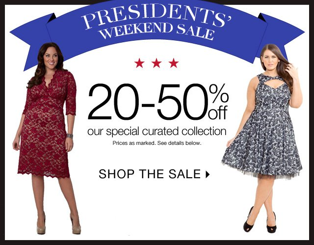 Shop 20-50% off our special curated collection now