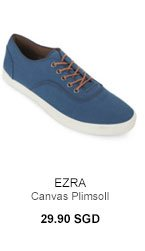 Canvas Plimsoll for 29.90SGD