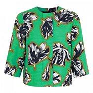 JONATHAN SAUNDERS - Tilly tulip print twill jacket