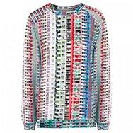 MARY KATRANTZOU - Printed jersey sweatshirt