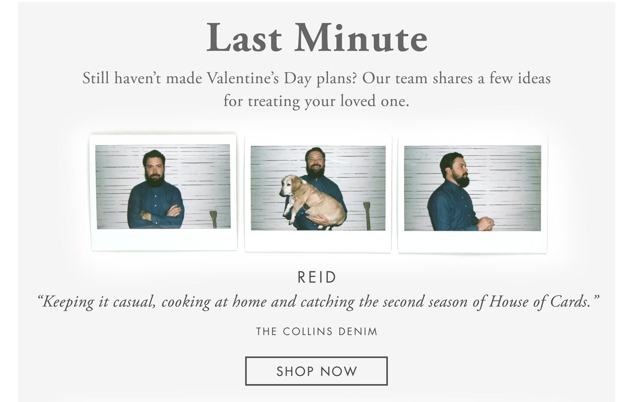 Last Minute - Reid