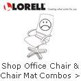 Lorell - Shop Office Chair & Chair Mat Combos.