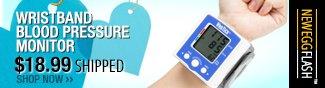 Newegg Flash - Wristband Blood Pressure Monitor.