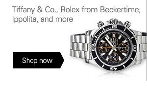 Tiffany & Co., Rolex from Beckertime, Ippolita, and more Shop now